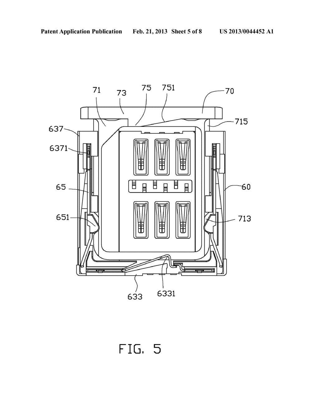 CHIP CARD HOLDING MECHANISM AND PORTABLE ELECTRONIC DEVICE USING SAME - diagram, schematic, and image 06