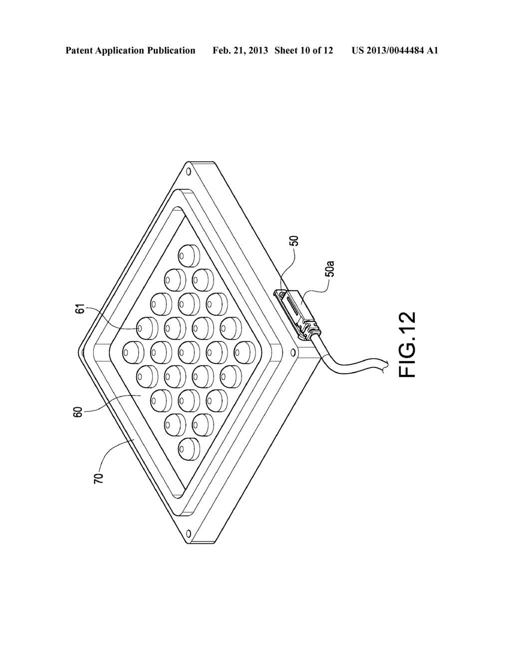 ILLUMINATING DEVICE AND METHOD FOR MANUFACTURING THE SAME - diagram, schematic, and image 11
