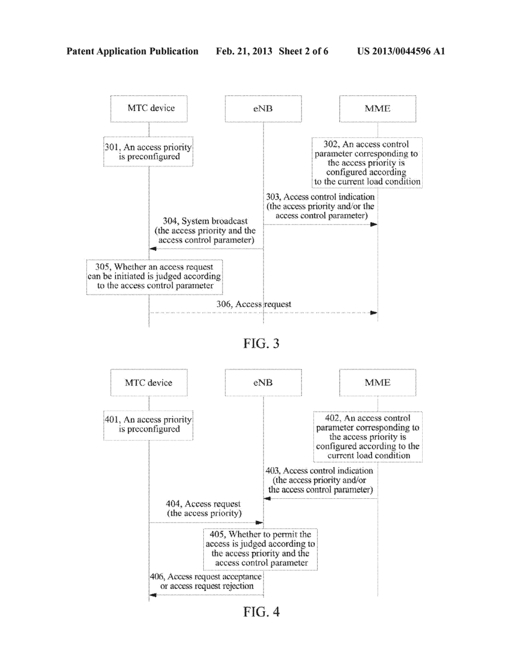 Method and System for Controlling Access of Machine Type Communications     Devices - diagram, schematic, and image 03