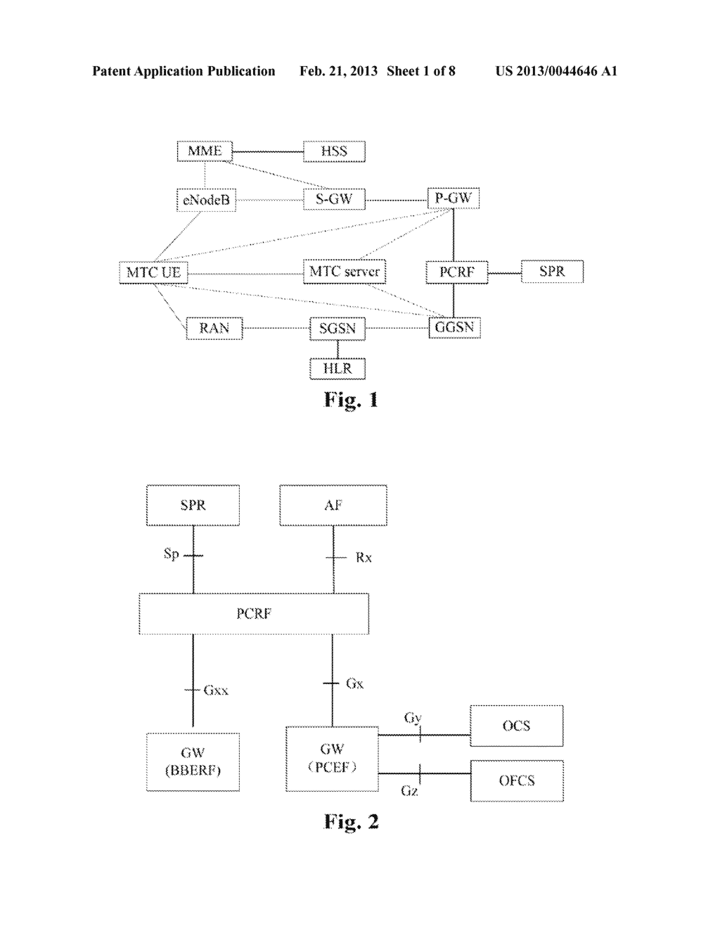 Policy application method for machine type communication, and policy and     charging enforcement function - diagram, schematic, and image 02