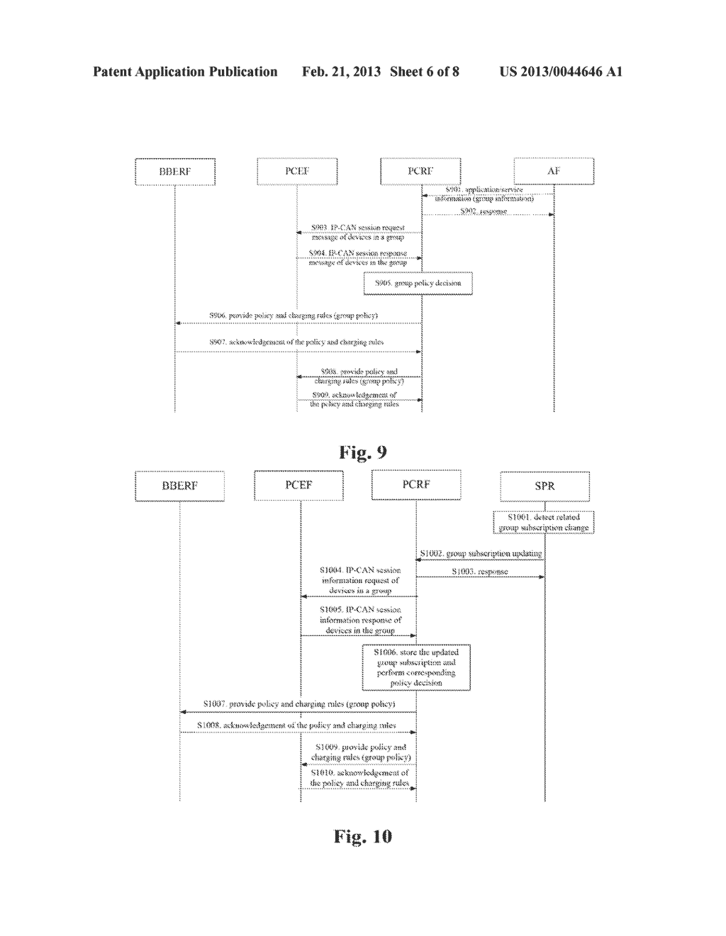 Policy application method for machine type communication, and policy and     charging enforcement function - diagram, schematic, and image 07