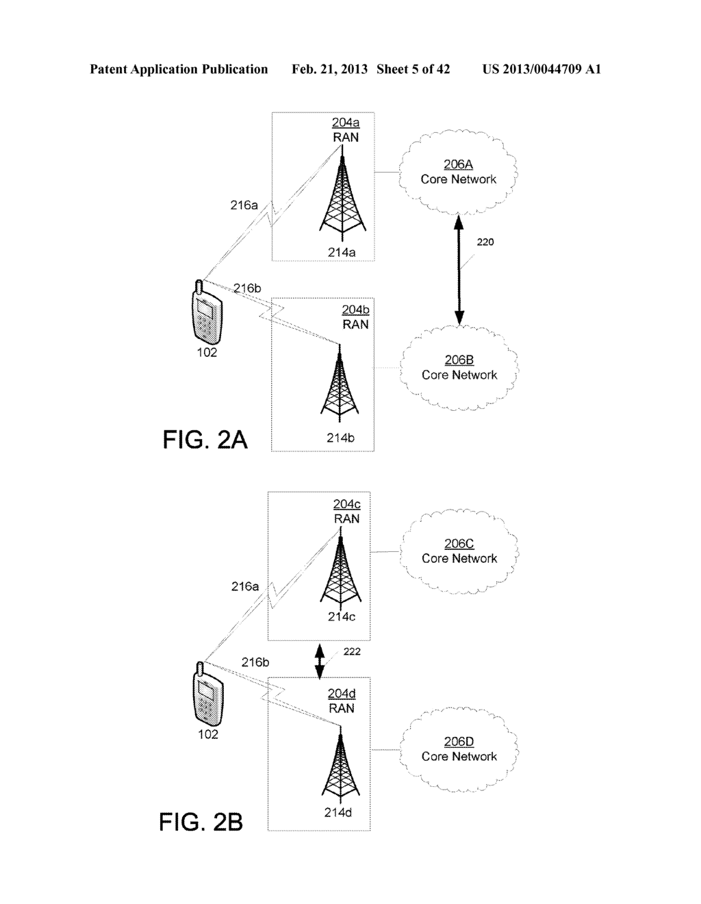 METHOD AND APPARATUS FOR USING NON-ACCESS STRATUM PROCEDURES IN A MOBILE     STATION TO ACCESS RESOURCES OF COMPONENT CARRIERS BELONGING TO DIFFERENT     RADIO ACCESS TECHNOLOGIES - diagram, schematic, and image 06