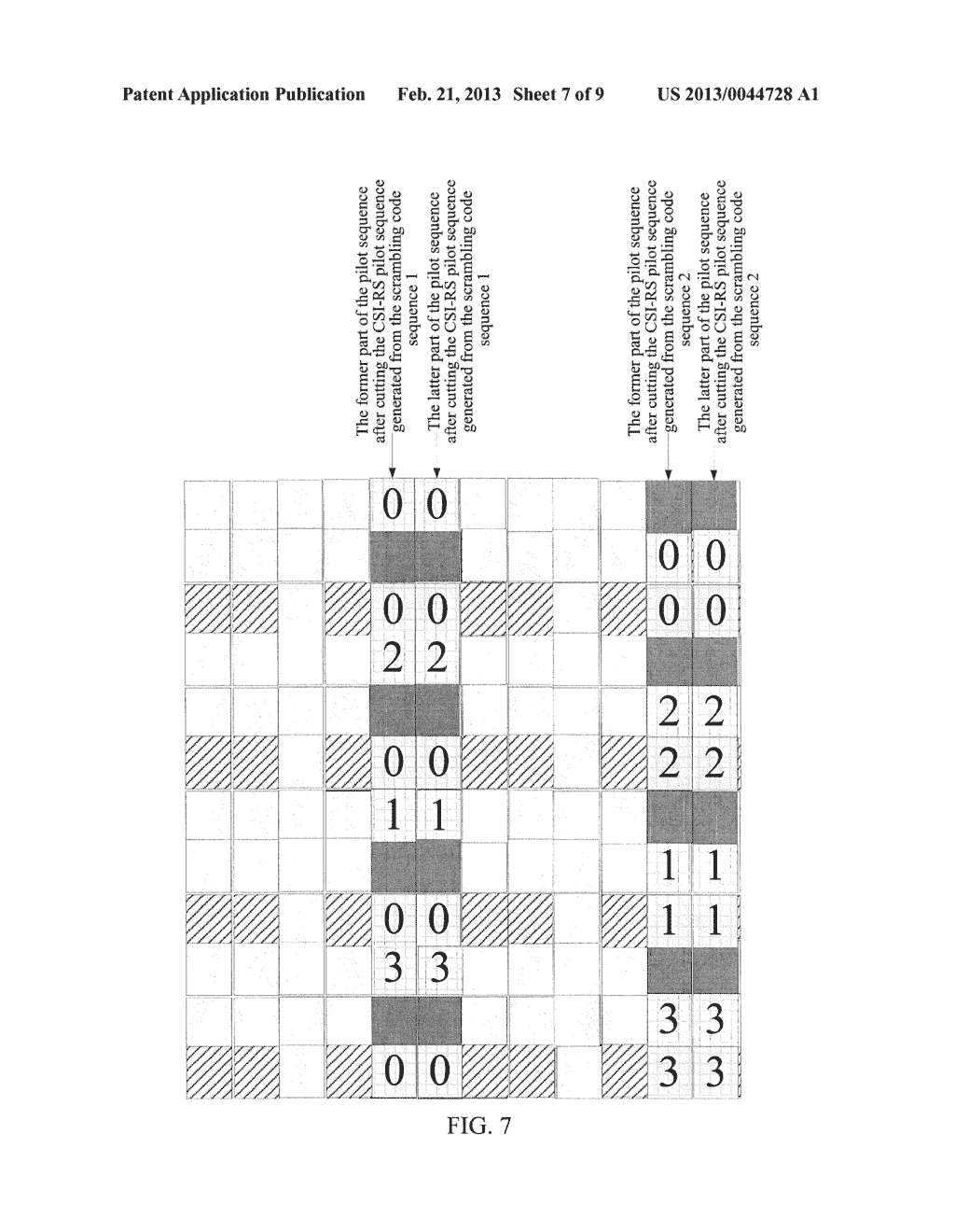 METHOD AND DEVICE FOR GENERATING AND MAPPING CHANNEL STATE INFORMATION     REFERENCE SIGNAL SEQUENCE - diagram, schematic, and image 08