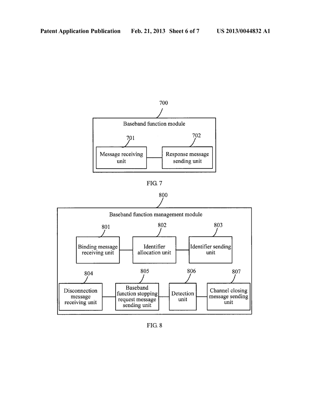 METHOD, DEVICE AND SYSTEM FOR COMMUNICATION BETWEEN DOUBLE CENTRAL     PROCESSING UNITS - diagram, schematic, and image 07