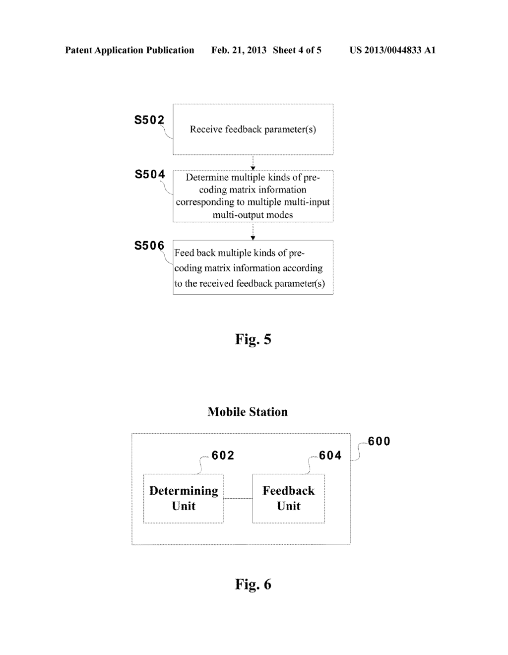 METHOD FOR FEEDING BACK PRECODING MATRIX INFORMATION AND MOBILE STATION     THEREOF - diagram, schematic, and image 05