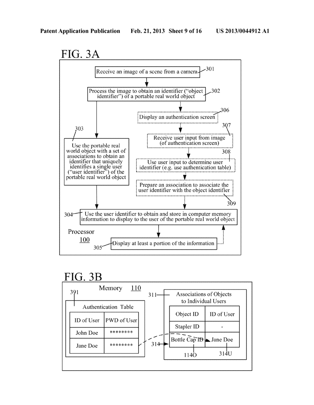 USE OF ASSOCIATION OF AN OBJECT DETECTED IN AN IMAGE TO OBTAIN INFORMATION     TO DISPLAY TO A USER - diagram, schematic, and image 10