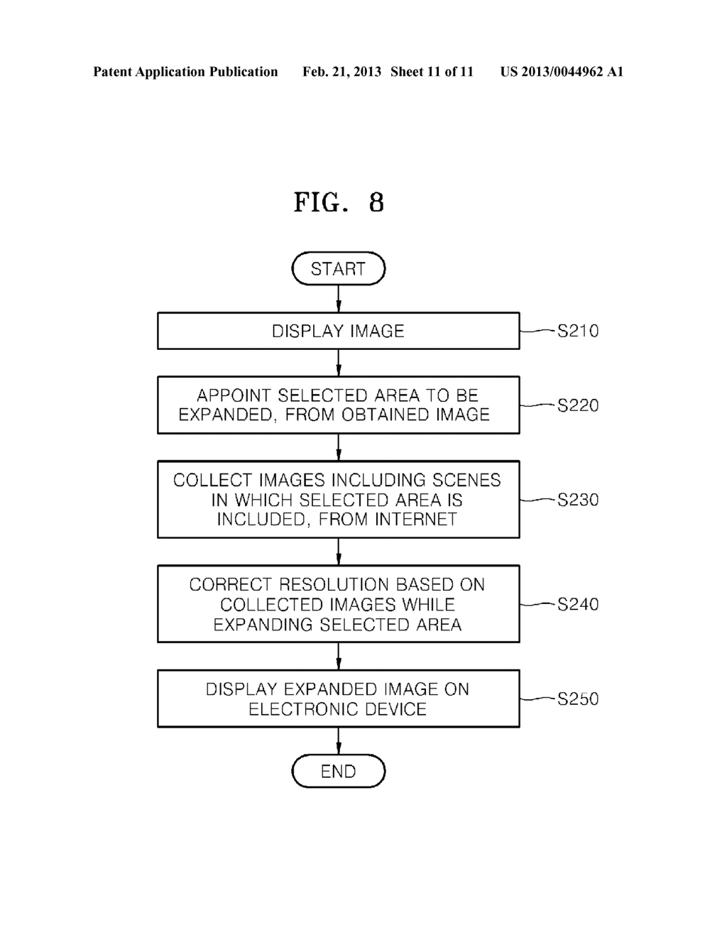 METHOD AND SYSTEM FOR RECONSTRUCTING IMAGE HAVING HIGH RESOLUTION - diagram, schematic, and image 12