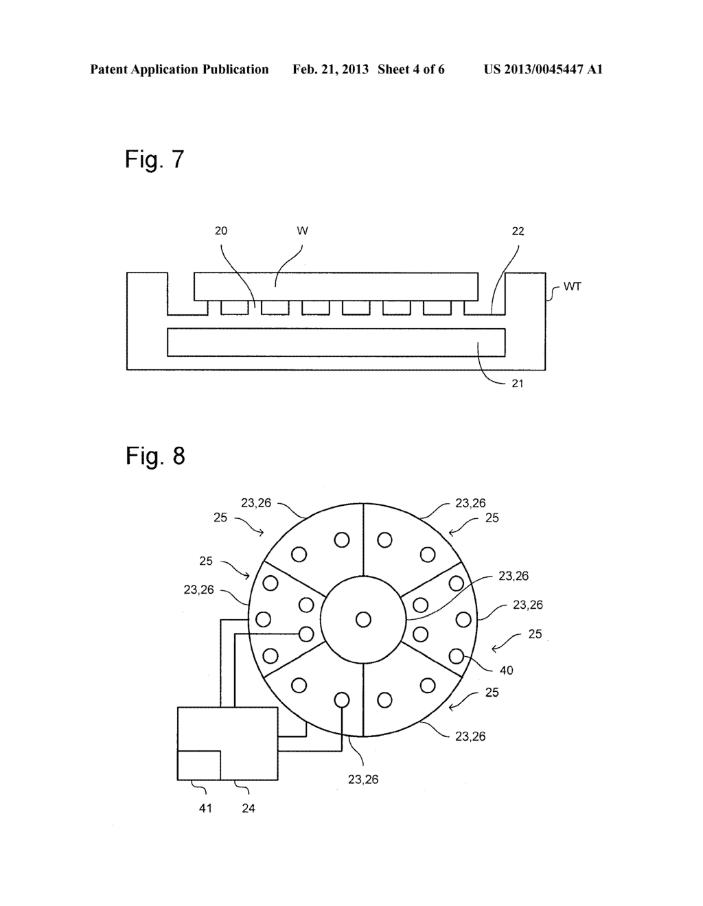LITHOGRAPHIC APPARATUS, SUPPORT TABLE FOR A LITHOGRAPHIC APPARATUS AND     DEVICE MANUFACTURING METHOD - diagram, schematic, and image 05