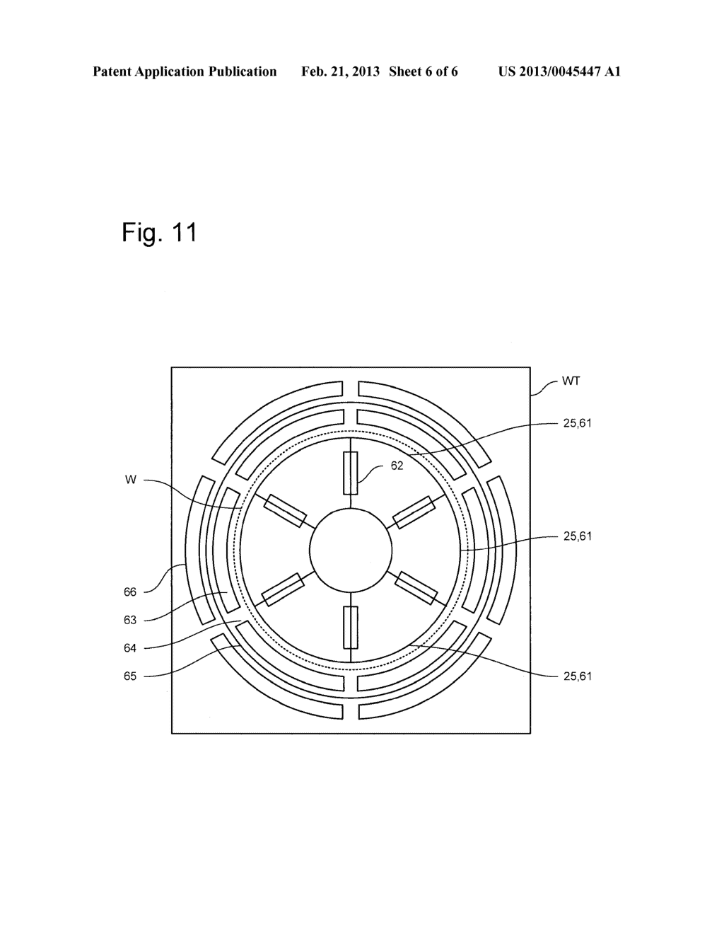 LITHOGRAPHIC APPARATUS, SUPPORT TABLE FOR A LITHOGRAPHIC APPARATUS AND     DEVICE MANUFACTURING METHOD - diagram, schematic, and image 07