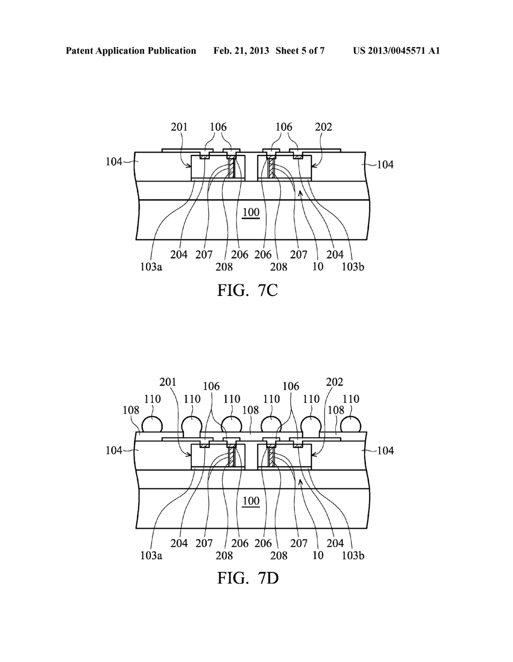 METHOD FOR FABRICATING ELECTRONIC DEVICE PACKAGE - diagram, schematic, and image 06