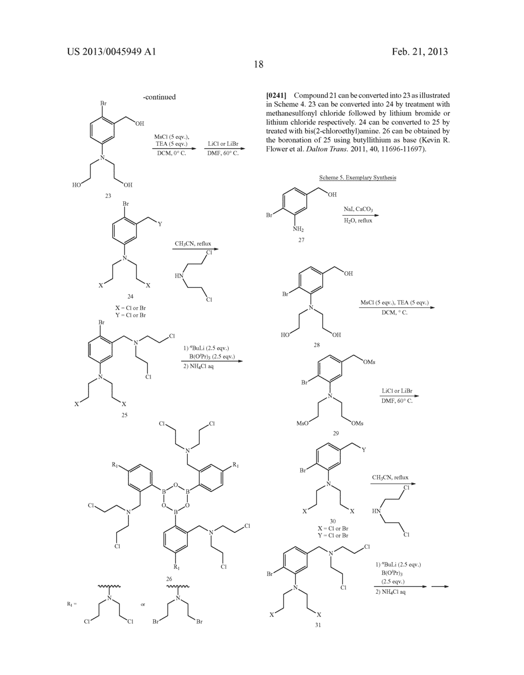 ANTI-CANCER AGENTS - diagram, schematic, and image 32