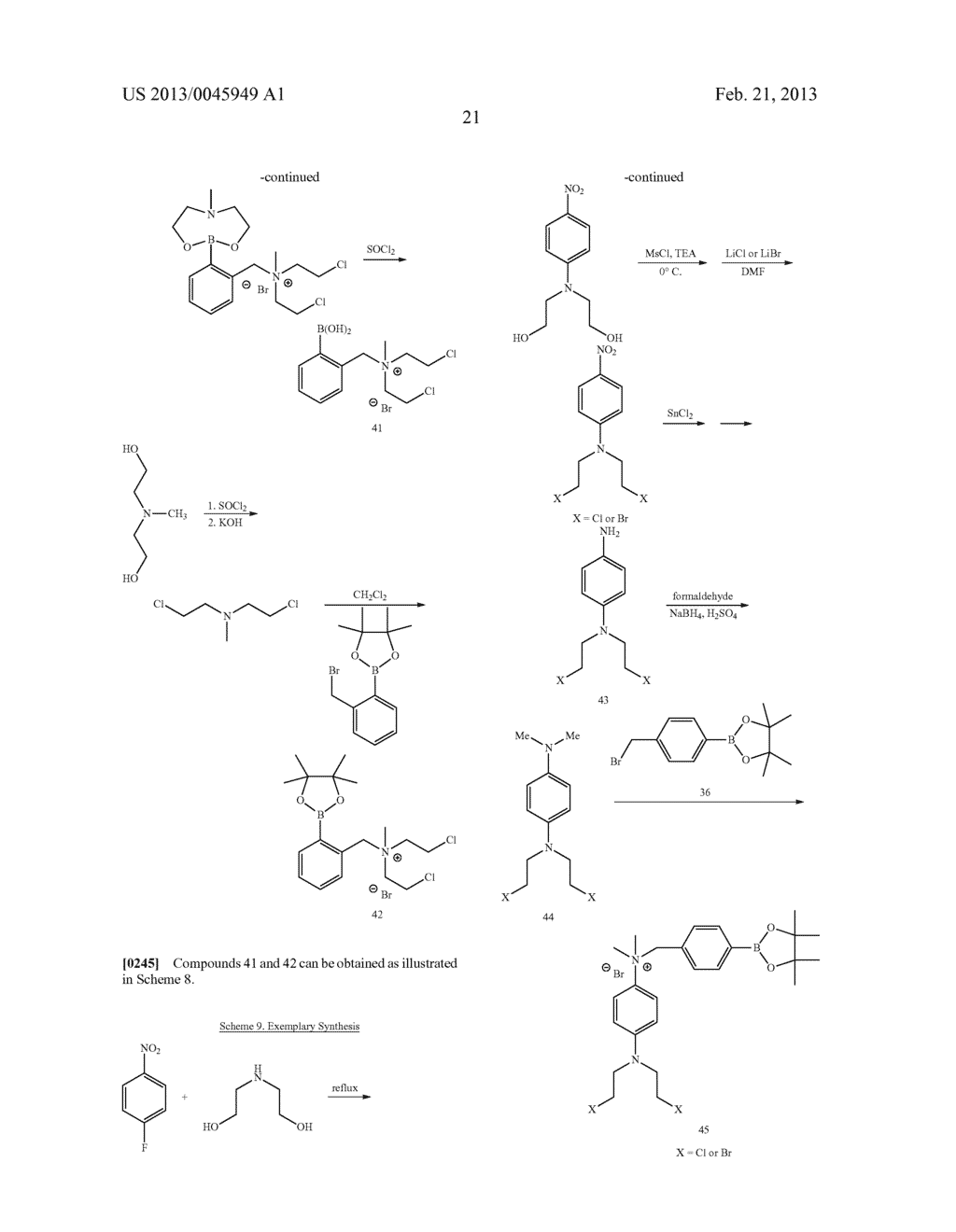 ANTI-CANCER AGENTS - diagram, schematic, and image 35