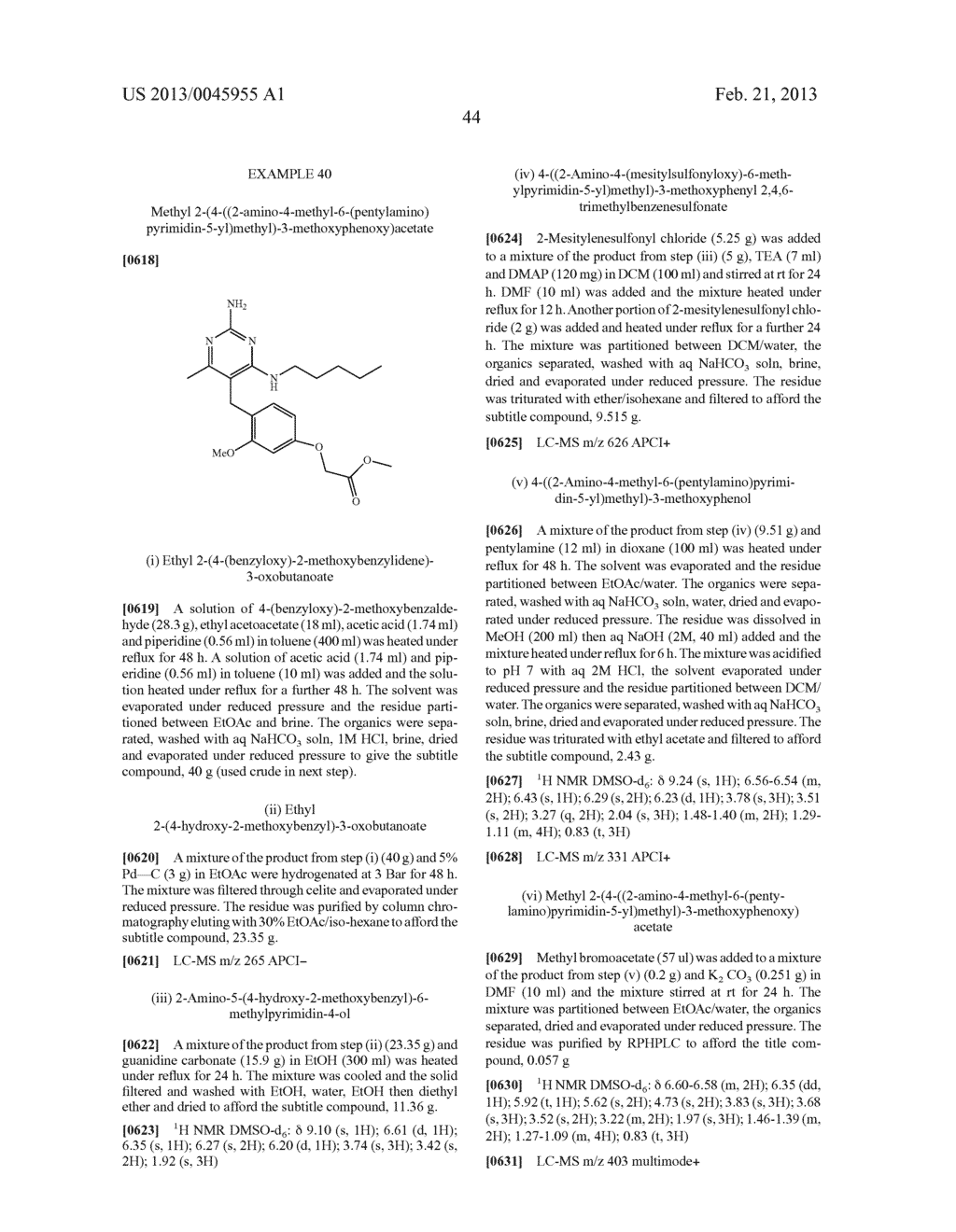 NOVEL COMPOUNDS - diagram, schematic, and image 47