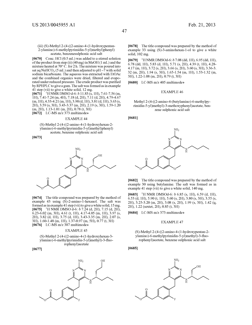 NOVEL COMPOUNDS - diagram, schematic, and image 50