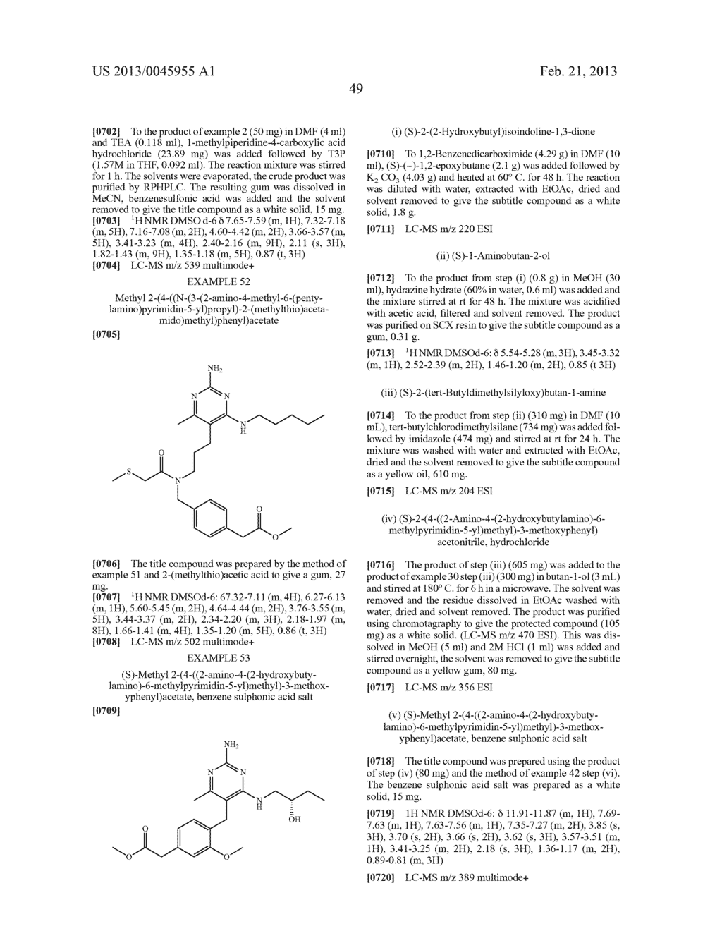 NOVEL COMPOUNDS - diagram, schematic, and image 52