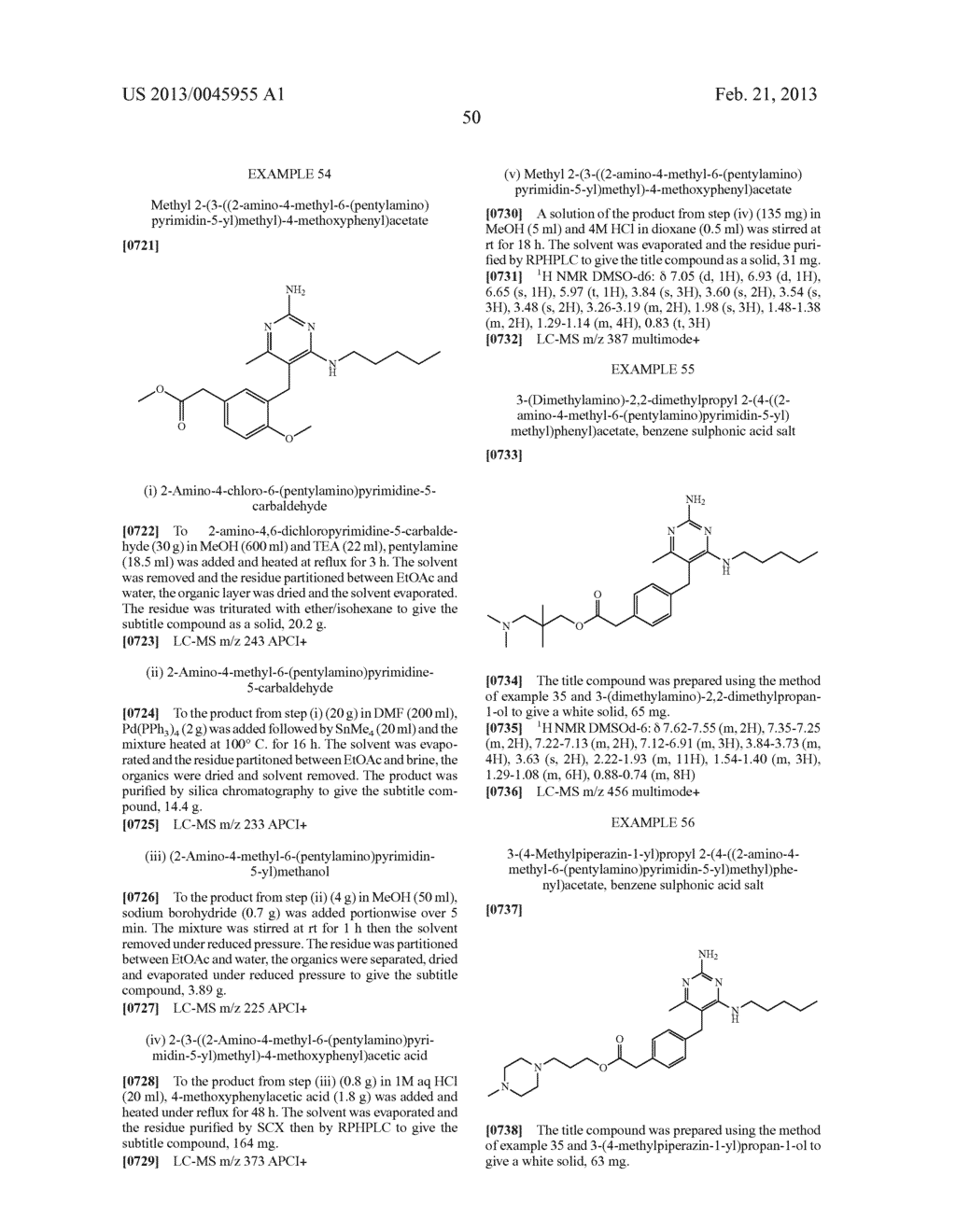 NOVEL COMPOUNDS - diagram, schematic, and image 53
