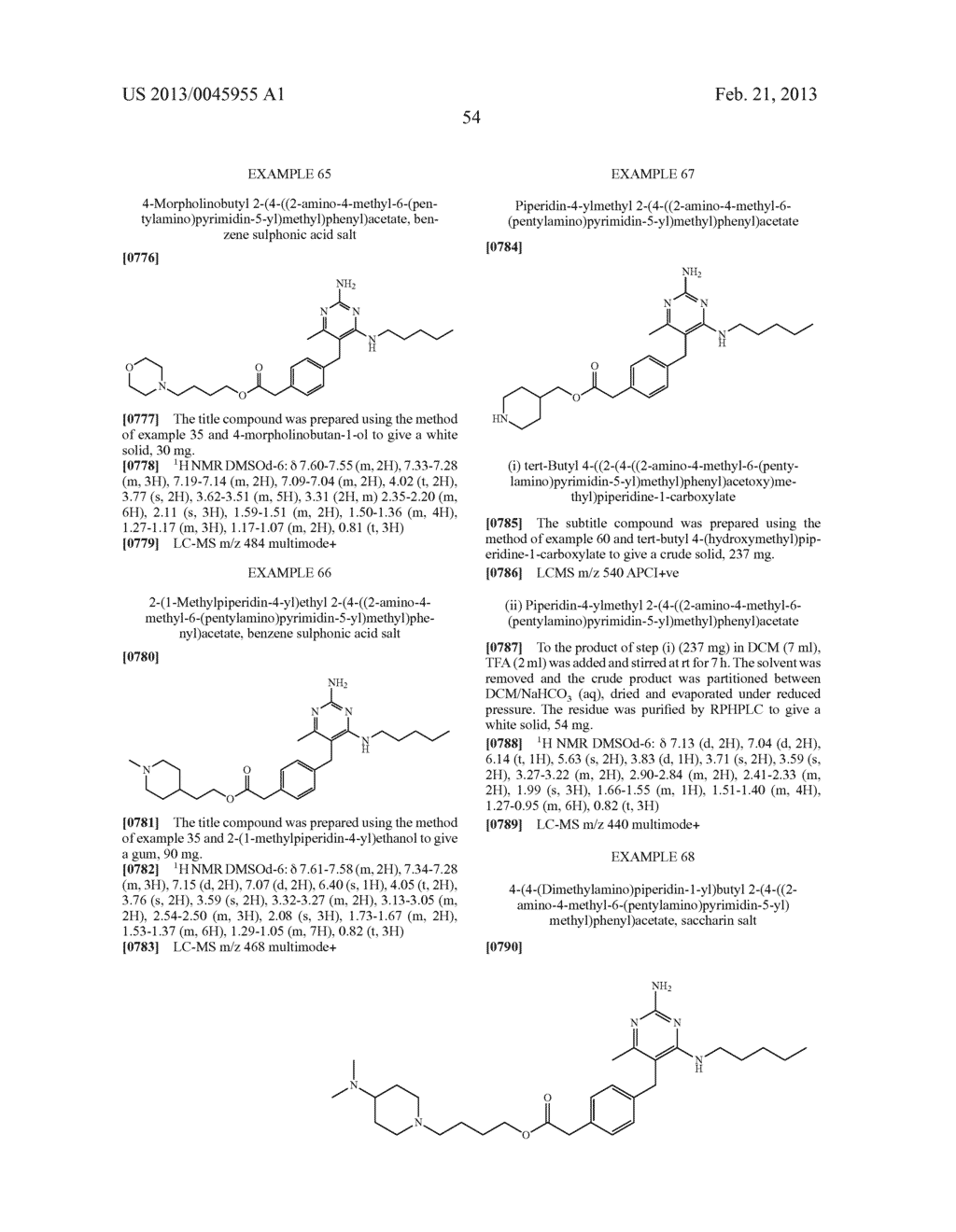 NOVEL COMPOUNDS - diagram, schematic, and image 57
