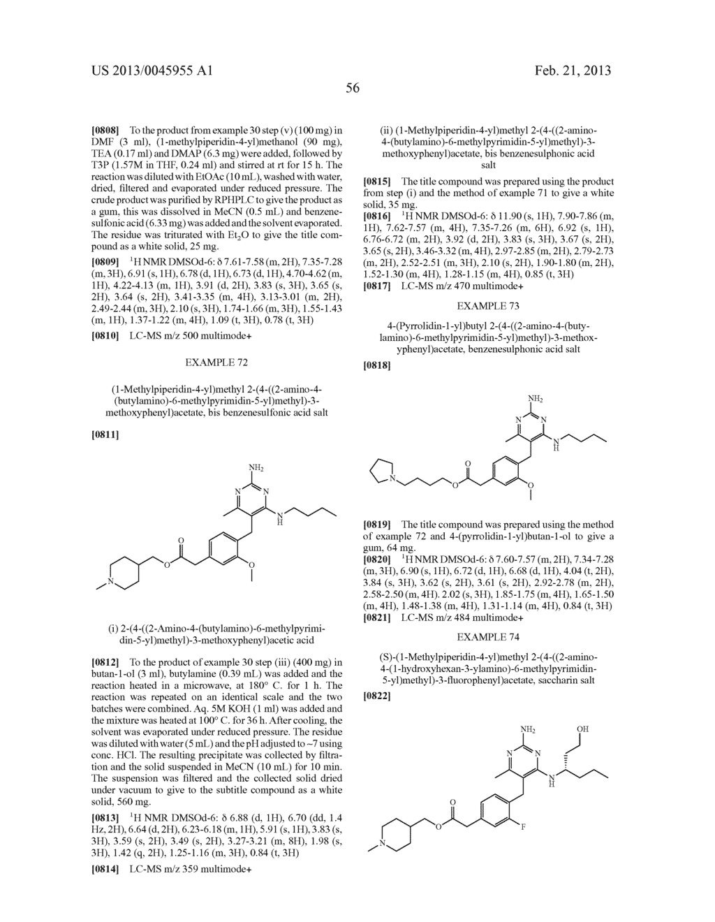 NOVEL COMPOUNDS - diagram, schematic, and image 59