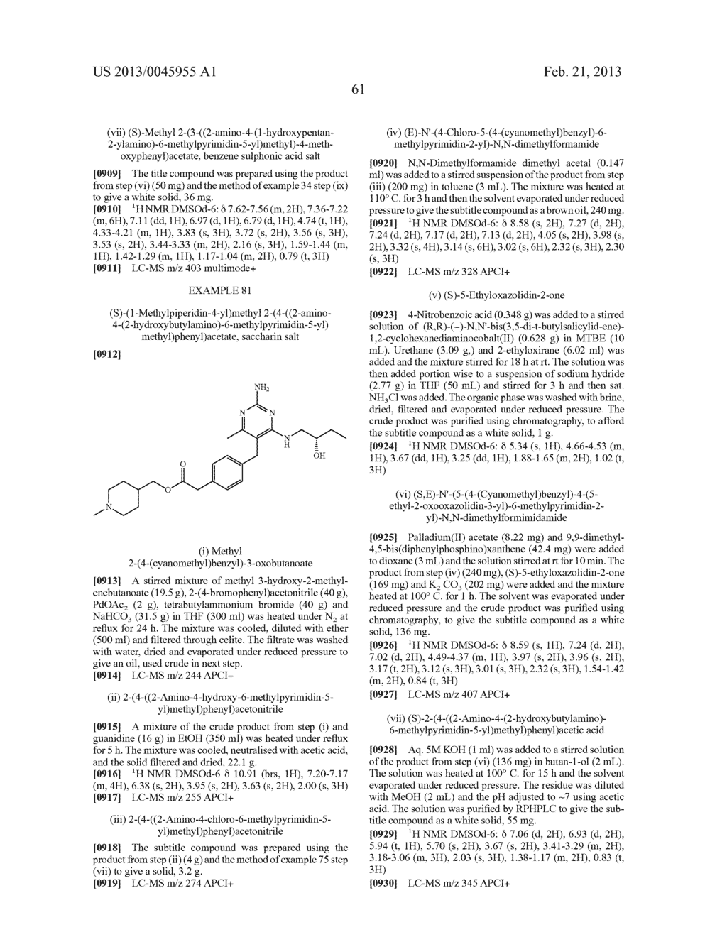 NOVEL COMPOUNDS - diagram, schematic, and image 64