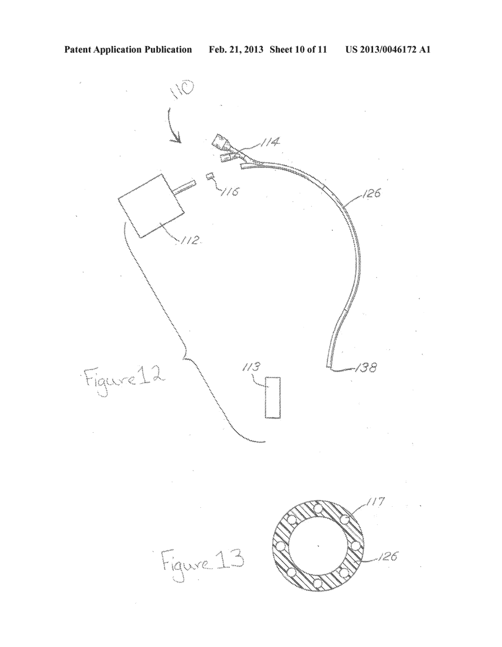 METHODS AND SYSTEMS FOR LOCATING A FEEDING TUBE INSIDE OF A PERSON - diagram, schematic, and image 11