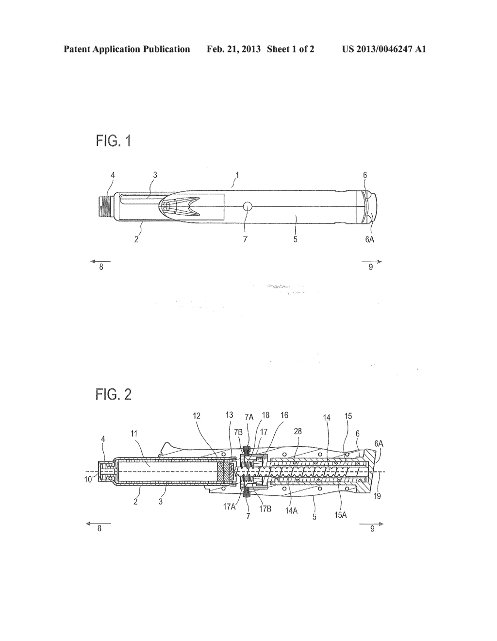 Assembly for a Drug Delivery Device and Drug Delivery Device - diagram, schematic, and image 02
