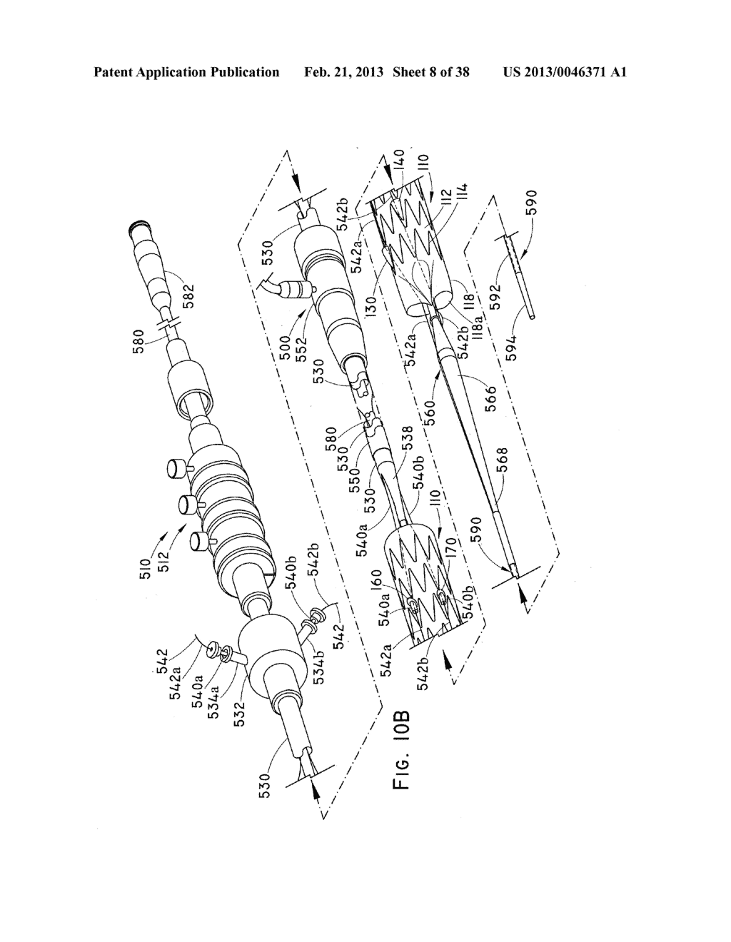 ENDOLUMINAL PROSTHESIS HAVING MULTIPLE BRANCHES OR FENESTRATIONS AND     METHODS OF DEPLOYMENT - diagram, schematic, and image 09