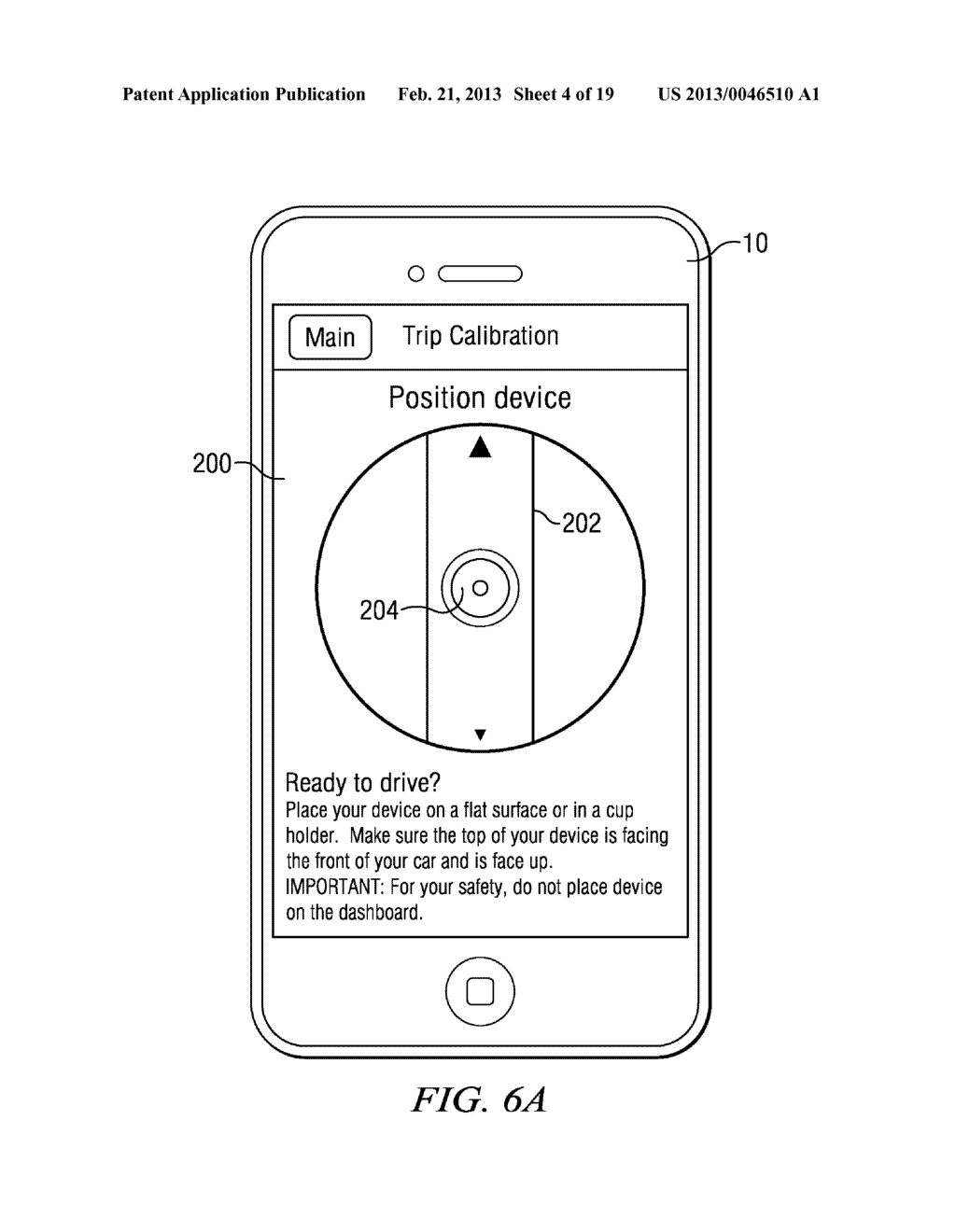 Systems and Methods for Controlling the Collection of Vehicle Use Data     Using a Mobile Device - diagram, schematic, and image 05