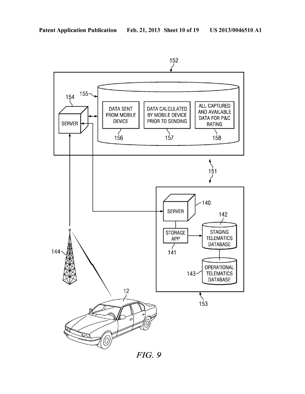 Systems and Methods for Controlling the Collection of Vehicle Use Data     Using a Mobile Device - diagram, schematic, and image 11