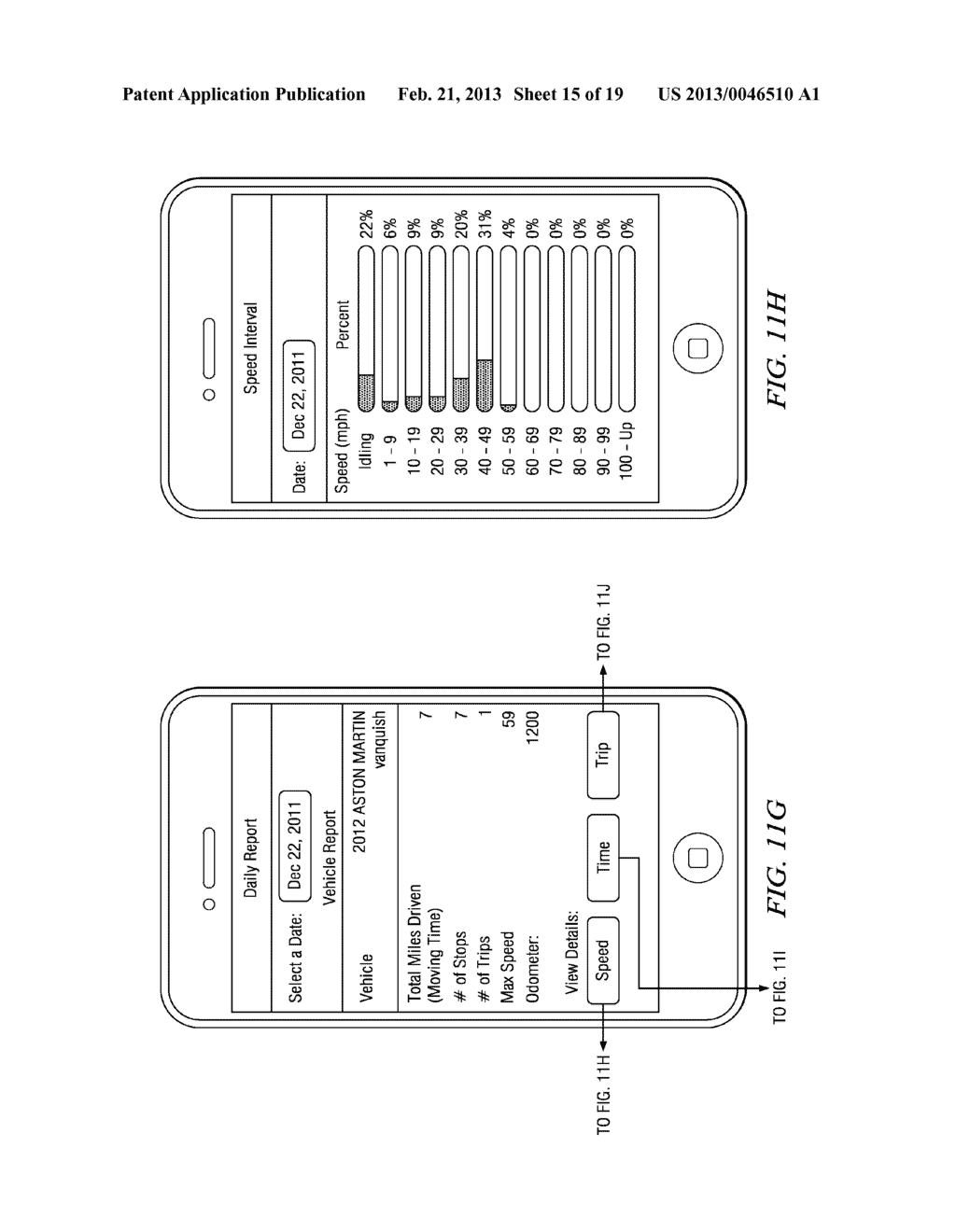 Systems and Methods for Controlling the Collection of Vehicle Use Data     Using a Mobile Device - diagram, schematic, and image 16