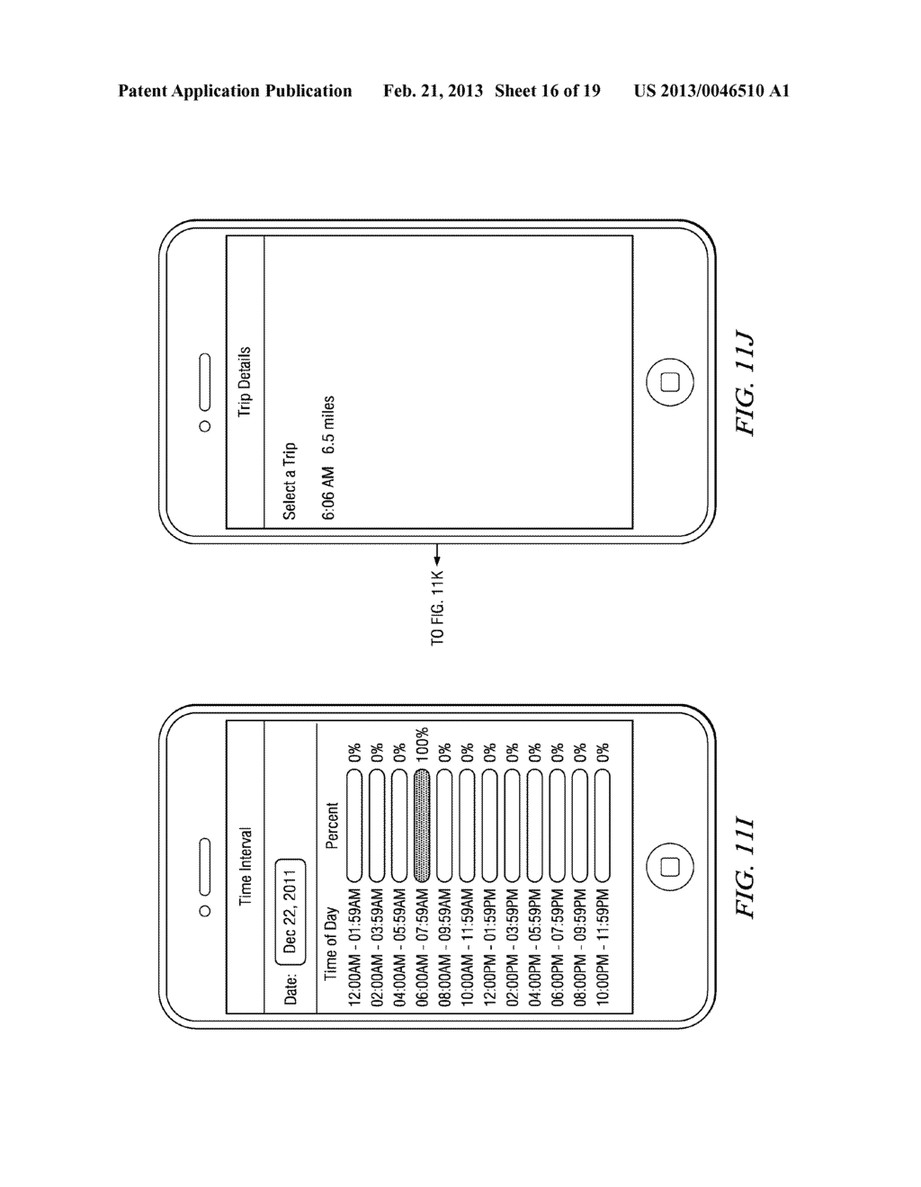 Systems and Methods for Controlling the Collection of Vehicle Use Data     Using a Mobile Device - diagram, schematic, and image 17