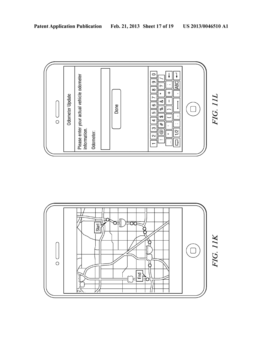 Systems and Methods for Controlling the Collection of Vehicle Use Data     Using a Mobile Device - diagram, schematic, and image 18
