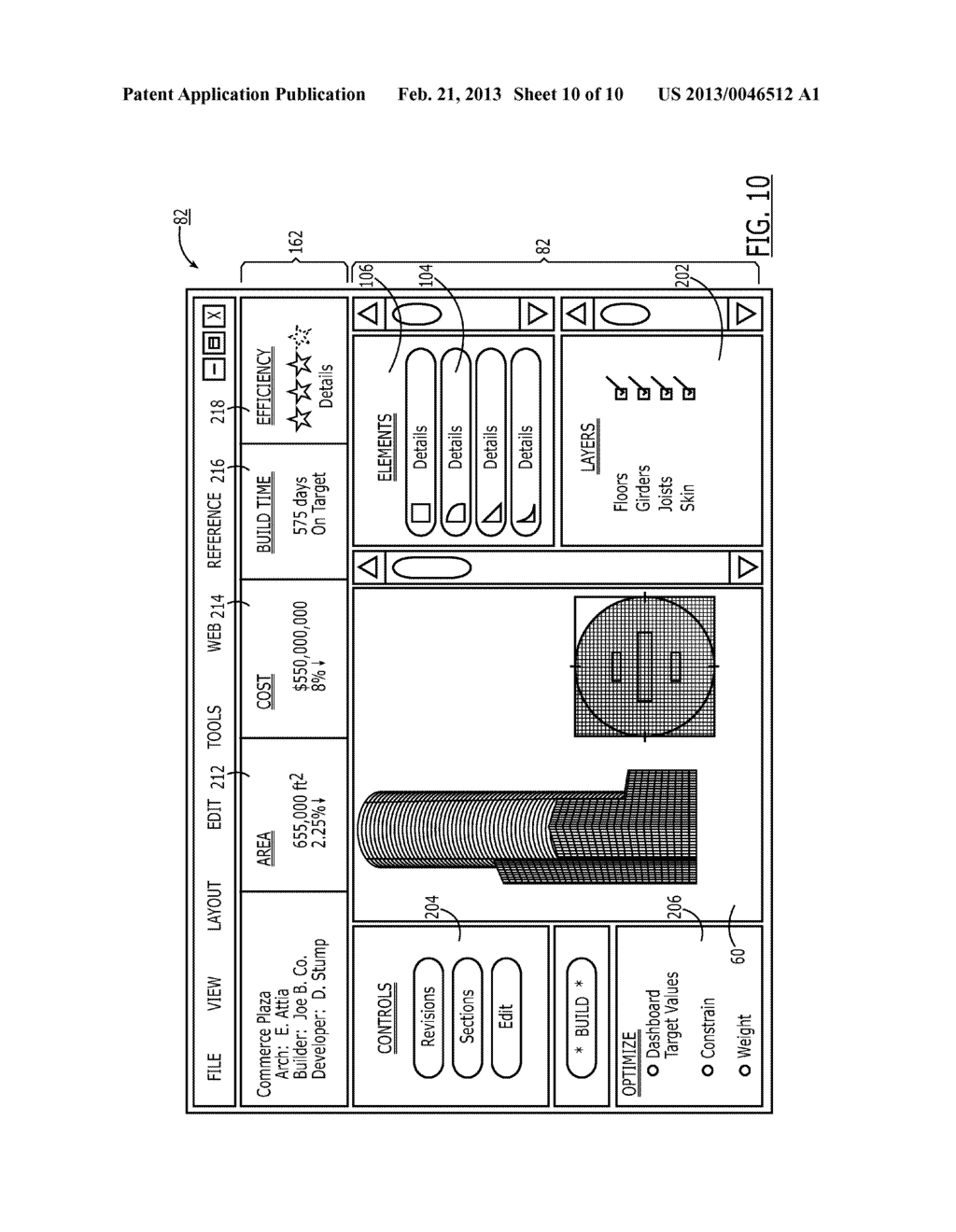 System and Methods Facilitating Interfacing with a Structure Design and     Development Process - diagram, schematic, and image 11