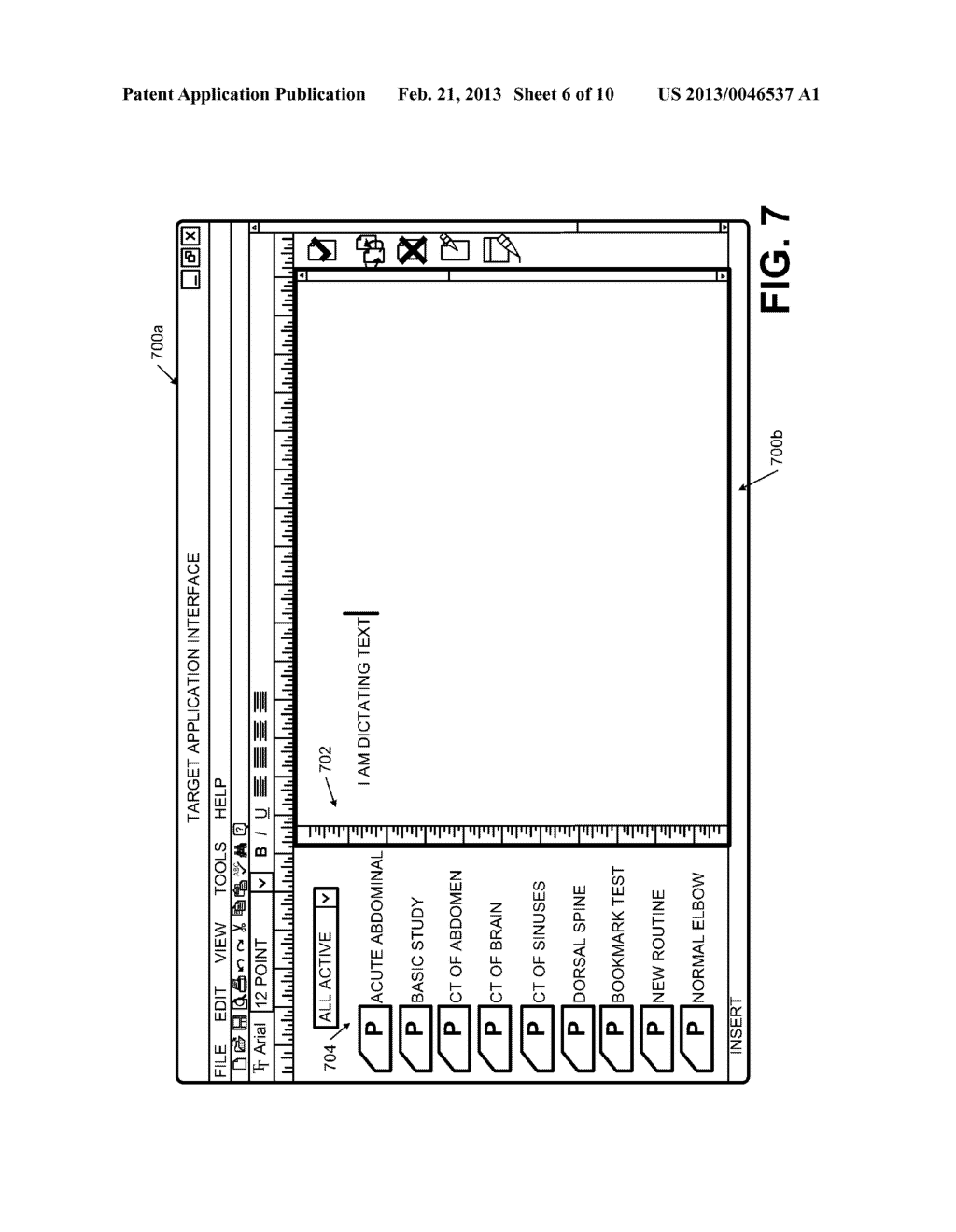 Systems and Methods for Providing an Electronic Dictation Interface - diagram, schematic, and image 07