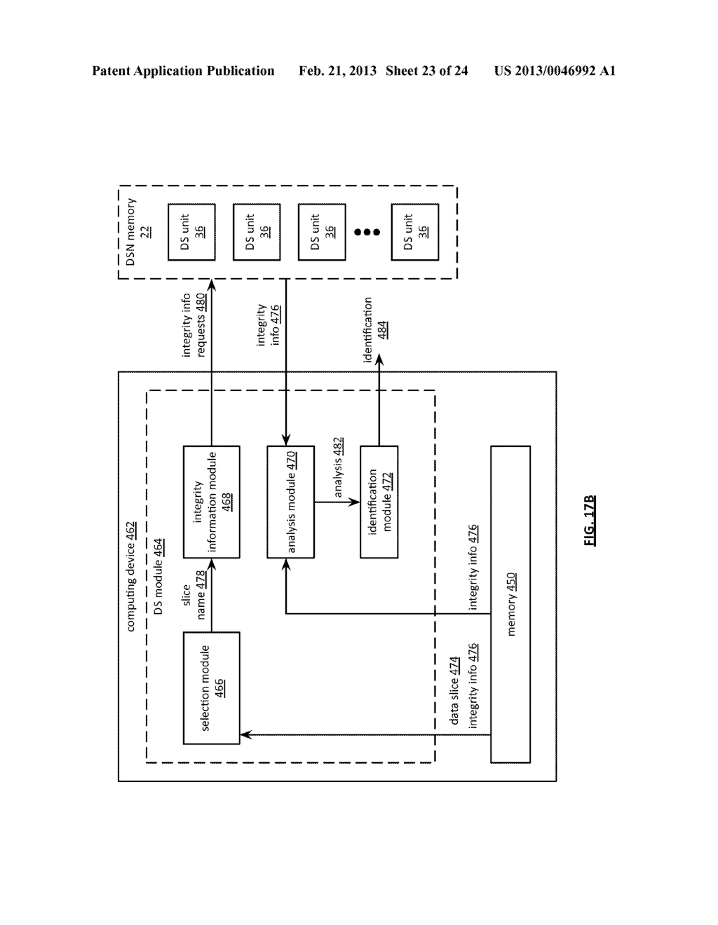 STORAGE AND RETRIEVAL OF DISPERSED STORAGE NETWORK ACCESS INFORMATION - diagram, schematic, and image 24