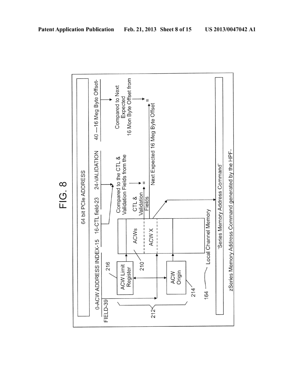 FIBRE CHANNEL INPUT/OUTPUT DATA ROUTING SYSTEM AND METHOD - diagram, schematic, and image 09