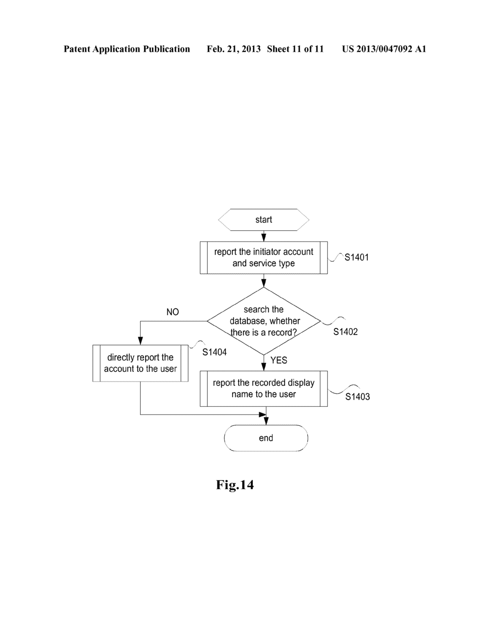 COMMUNICATION CLIENT AND A METHOD FOR INITIATING A COMMUNICATION SERVICE - diagram, schematic, and image 12