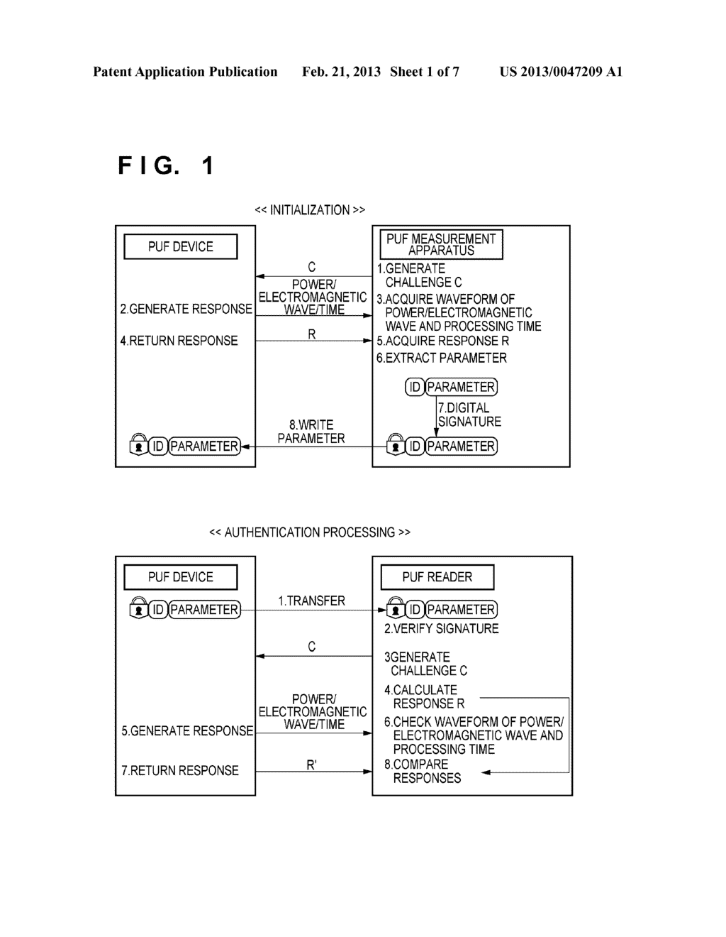 AUTHENTICATION PROCESSING METHOD AND APPARATUS - diagram, schematic, and image 02