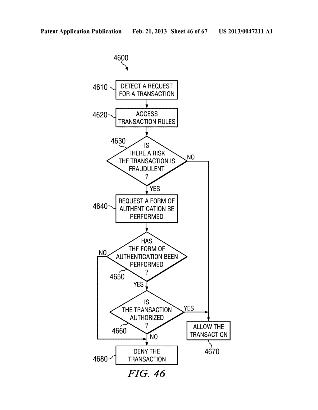 METHOD AND APPARATUS FOR NETWORK SESSION VALIDATION - diagram, schematic, and image 47