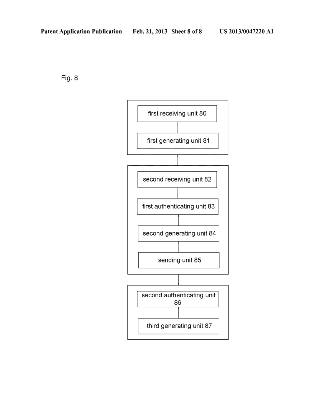 Method and system for multi-access authentication in next generation     network - diagram, schematic, and image 09