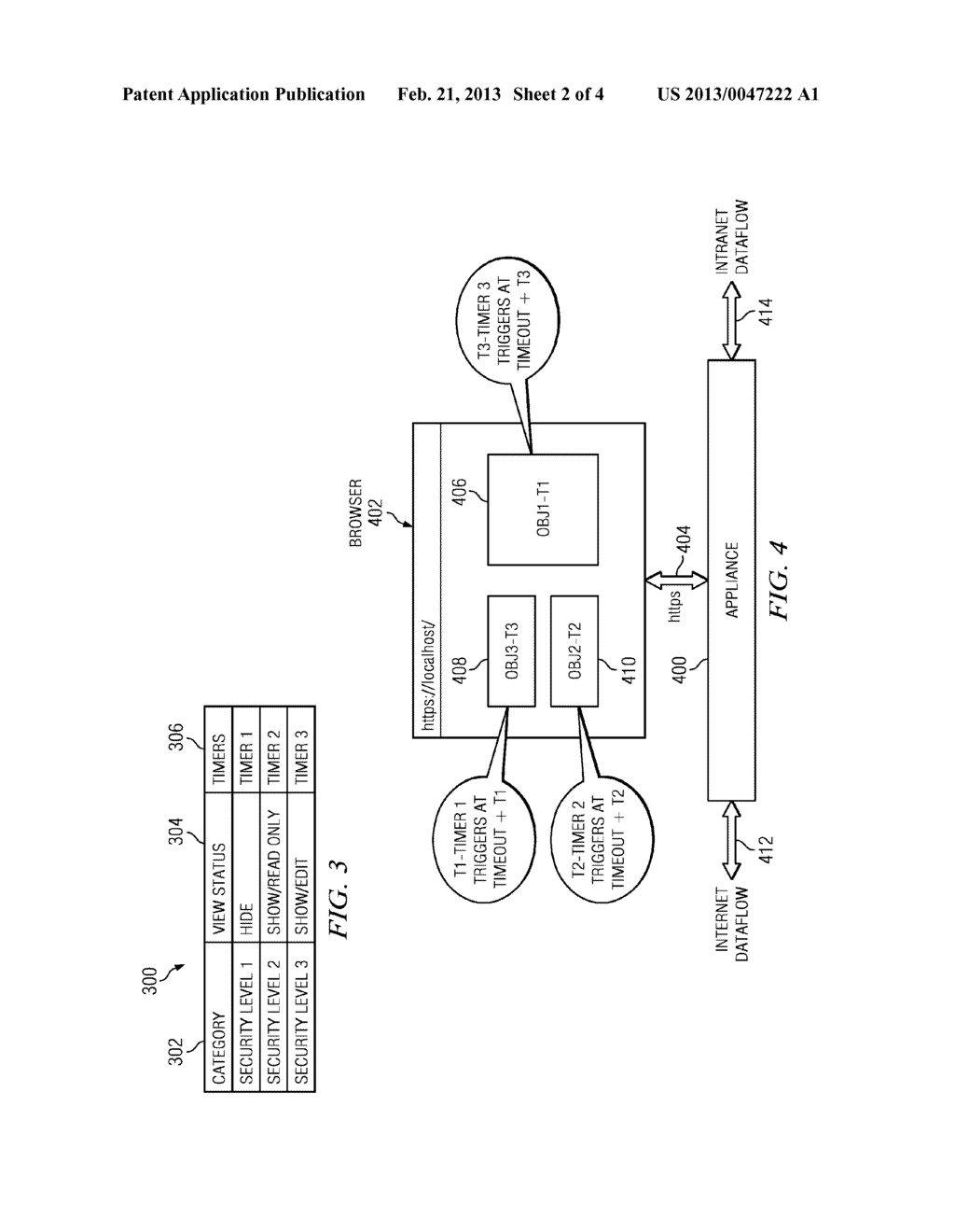 Implementing secured, event-based layered logout from a computer system - diagram, schematic, and image 03