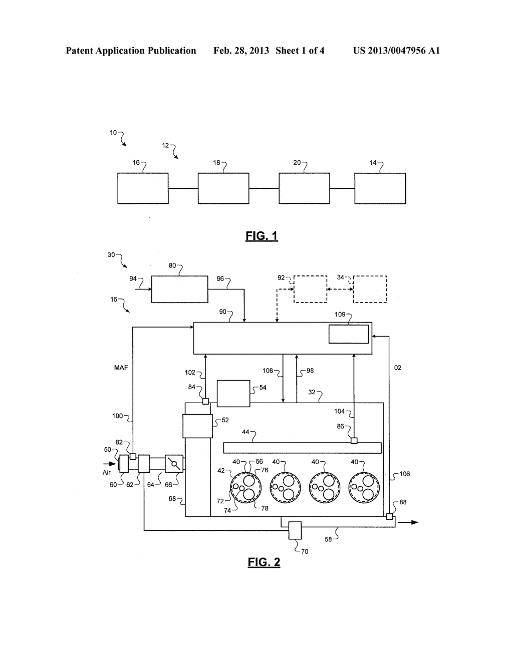 CONTROL SYSTEM AND METHOD FOR PREVENTING STOCHASTIC PRE-IGNITION IN AN     ENGINE - diagram, schematic, and image 02