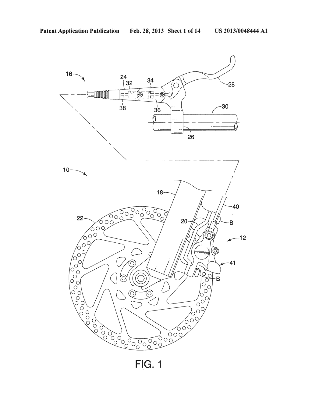 Bicycle Disc Brake Caliper Diagram Schematic And Image 02