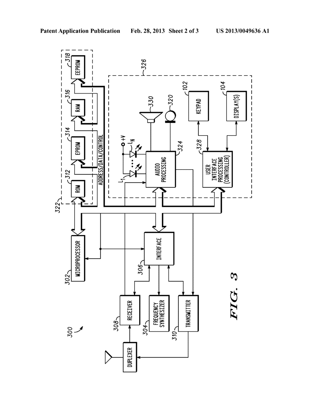 Electronic Device for Controlling Lighting Effects Using an Audio File - diagram, schematic, and image 03