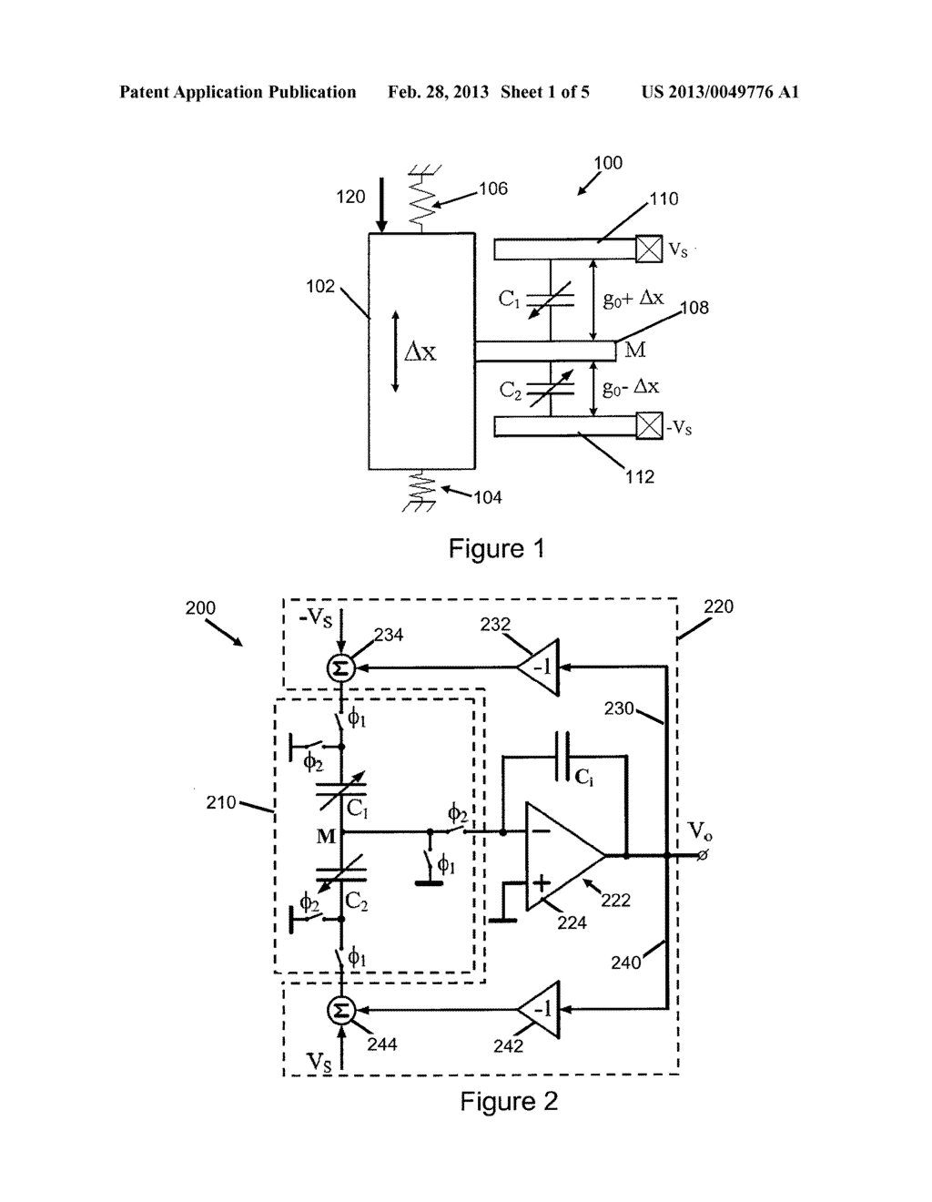 READOUT CIRCUIT FOR SELF-BALANCING CAPACITOR BRIDGE - diagram, schematic, and image 02