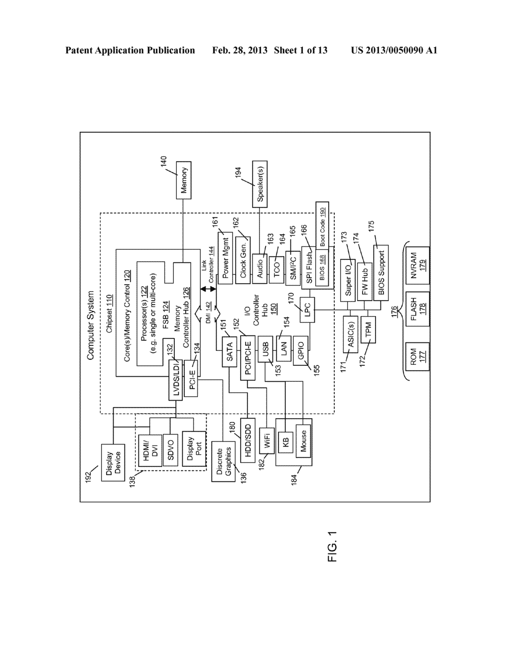INFORMATION HANDLING DEVICES WITH TOUCH-BASED REFLECTIVE DISPLAY - diagram, schematic, and image 02