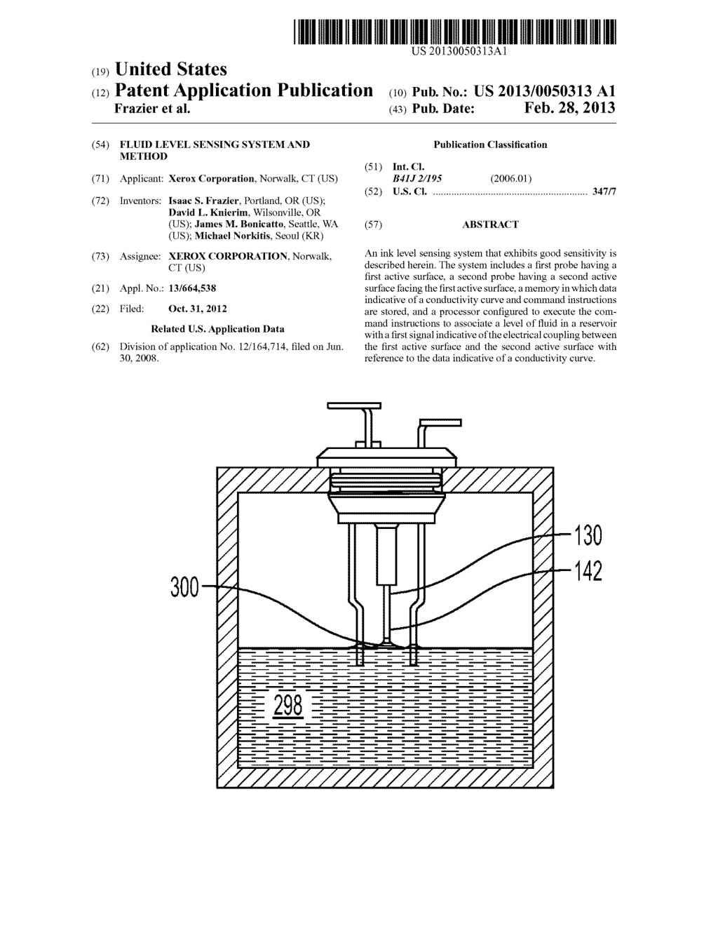 Fluid Level Sensing System And Method - diagram, schematic, and image 01
