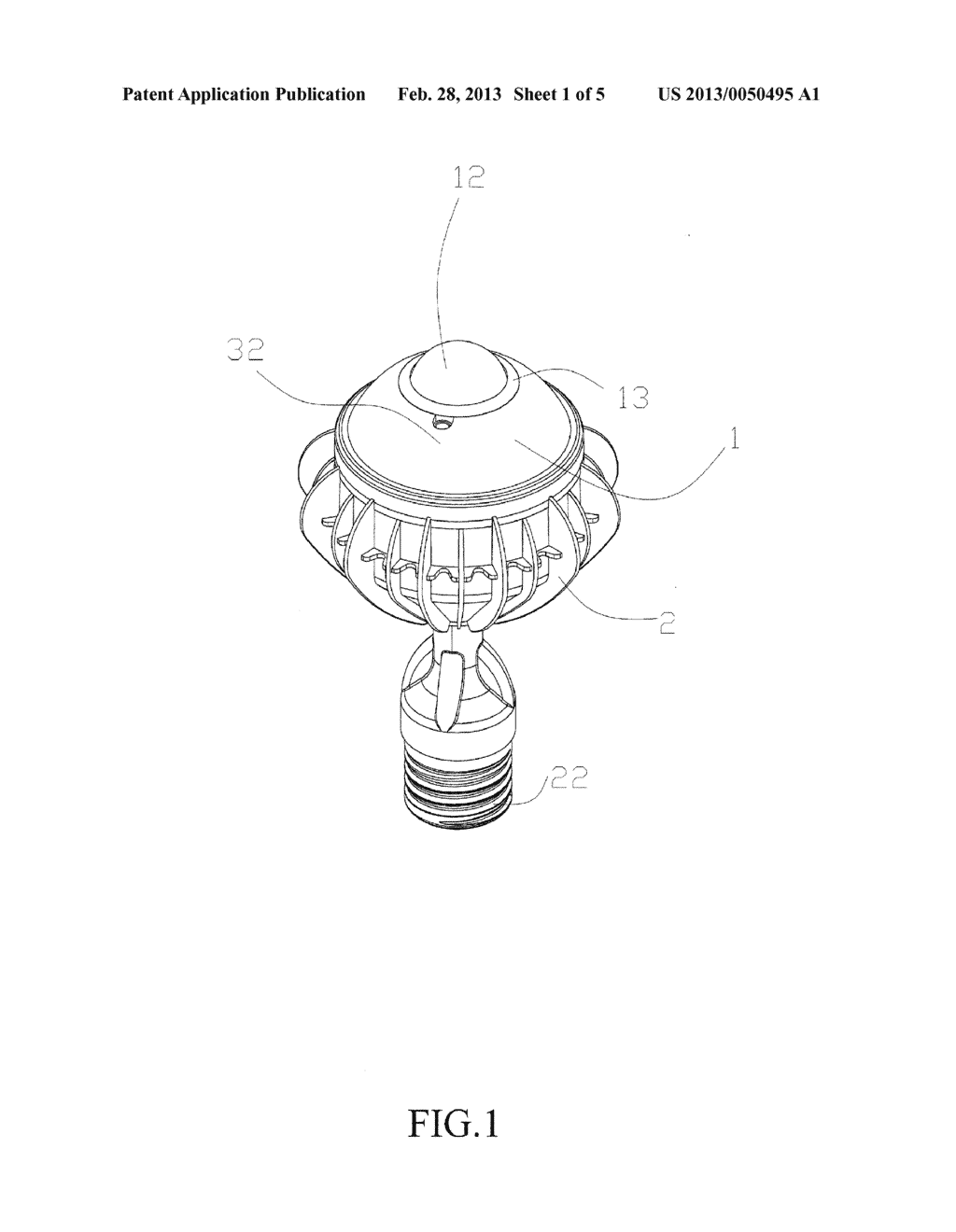 Bulb with Sensing Function and Camera - diagram, schematic, and image 02