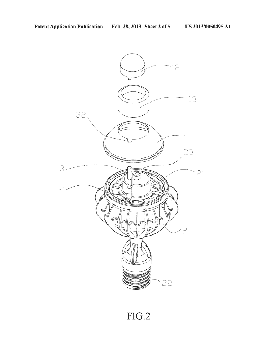 Bulb with Sensing Function and Camera - diagram, schematic, and image 03