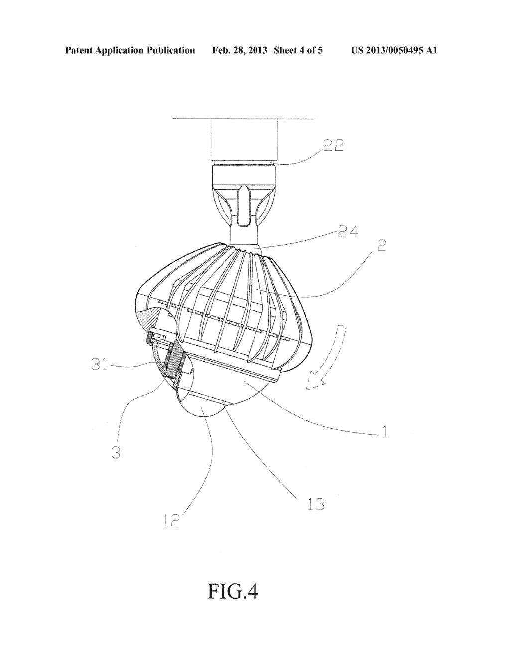 Bulb with Sensing Function and Camera - diagram, schematic, and image 05