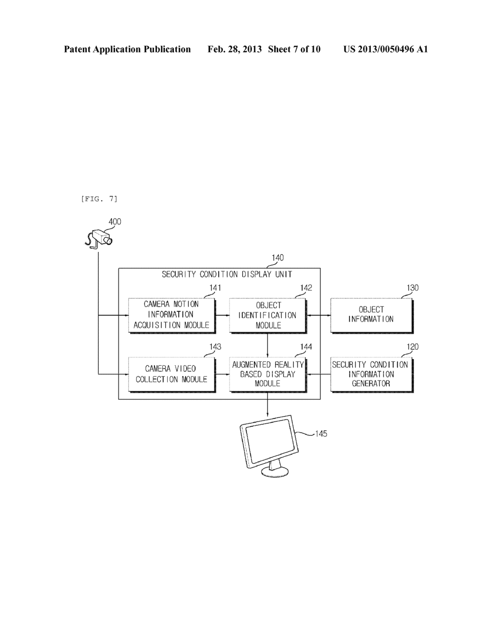 SECURITY MONITORING METHOD AND APPARATUS USING AUGMENTED REALITY - diagram, schematic, and image 08